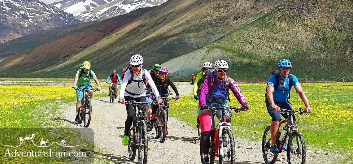 Cycling in Lar National Park
