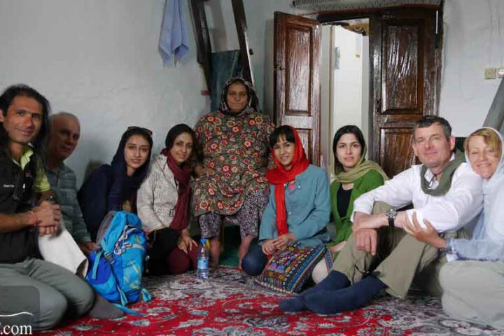 Iran Travel in Local House