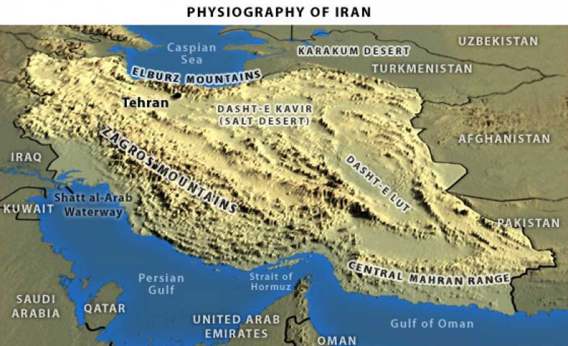 Physiography of Iran